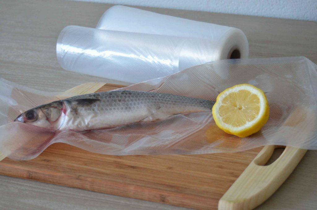 vacuum sealing whole fish